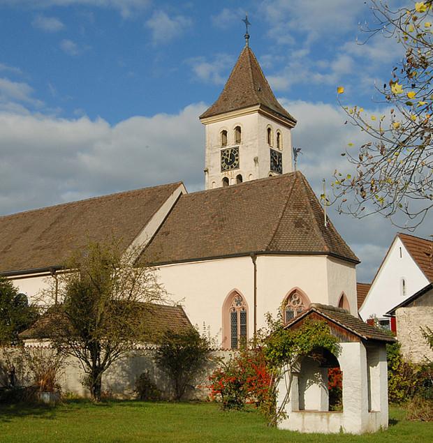 Niederrimsingen - Kirche