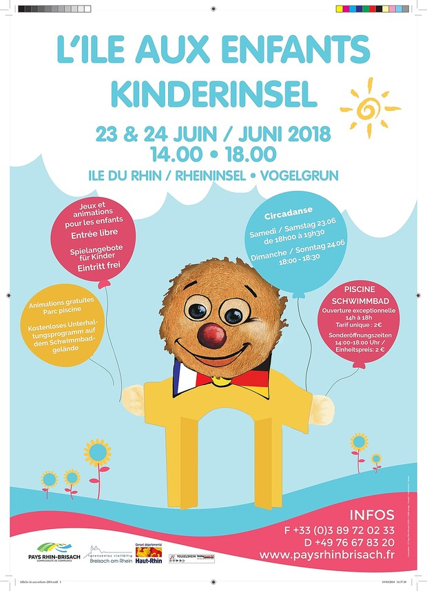 Plakat Kinderinsel 2018