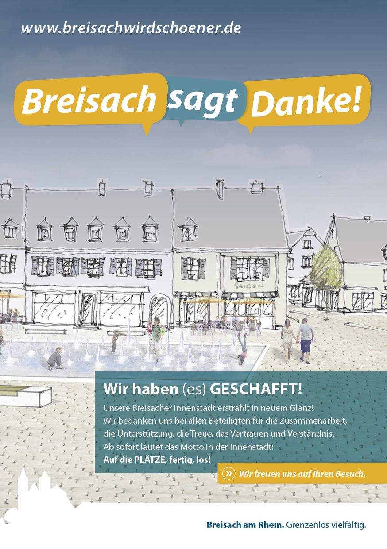 Breisach sagt Danke