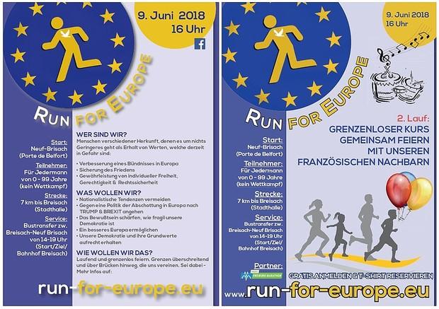 Run for Europe