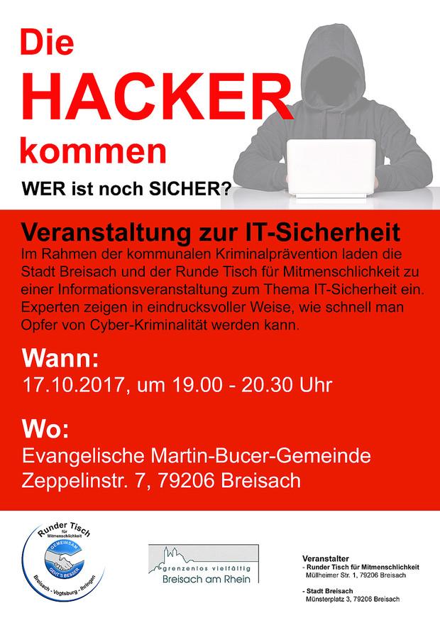 Veranstaltung zur IT-Sicherheit