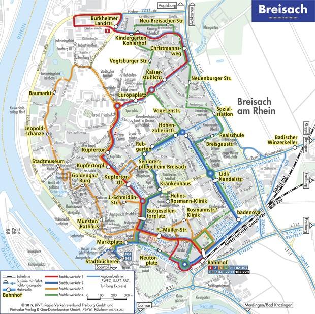 2019 Liniennetzplan